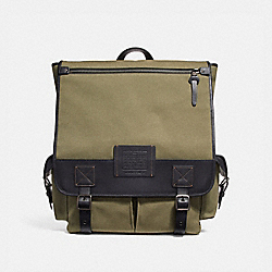 SCOUT BACKPACK - ARMY GREEN - COACH F32576