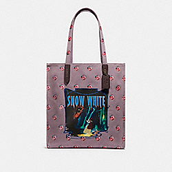 DISNEY X COACH SNOW WHITE TOTE - JASMINE/BLACK COPPER - COACH F32720