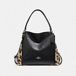 EDIE SHOULDER BAG 31 WITH BLOCKED LEOPARD PRINT - B4/LEOPARD - COACH F32728