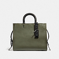 ROGUE WITH BELL FLOWER PRINT INTERIOR - ARMY GREEN - COACH F32779