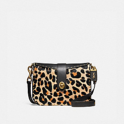 PAGE 27 WITH LEOPARD PRINT - LEOPARD/BRASS - COACH F32870