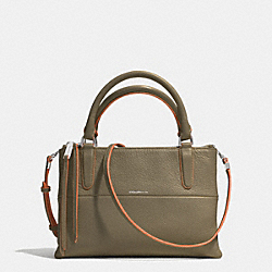 COACH THE PEBBLE EDGEPAINT LEATHER MINI BOROUGH BAG - AKD6M - F32911