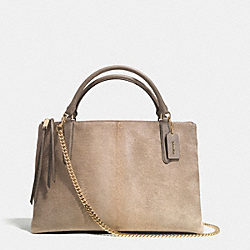 COACH THE BOROUGH BAG IN NATURAL HAIRCALF - GDSMO - F32913