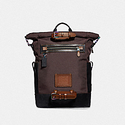 ACADEMY TRAVEL BACKPACK - S3/OXBLOOD - COACH F33090