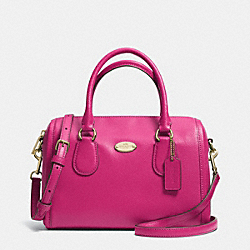 COACH MINI BENNETT SATCHEL IN CROSSGRAIN LEATHER - IMCBY - F33329