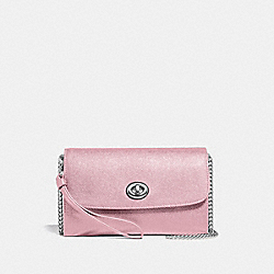 CHAIN CROSSBODY - CARNATION/SILVER - COACH F33390