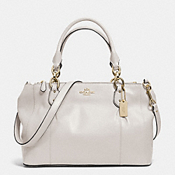 COLETTE LEATHER CARRYALL - f33447 - IM/IVORY