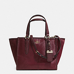 COACH MINI CROSBY CARRYALL IN HAIRCALF - LIDFP - F33522