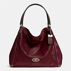 COACH LARGE EDIE SHOULDER BAG IN HAIRCALF - LIDFP - F33536