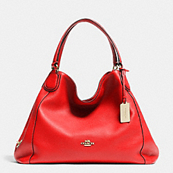 COACH EDIE SHOULDER BAG IN LEATHER - LICRD - F33547