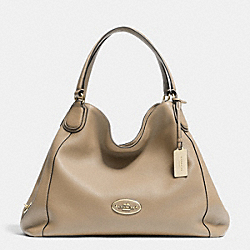 COACH EDIE SHOULDER BAG IN LEATHER - LIPUT - F33547