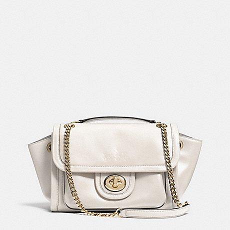 COACH RANGER FLAP CROSSBODY IN LEATHER -  LIGHT GOLD/CHALK - f33566