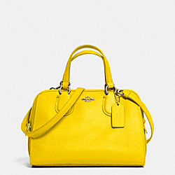 MINI NOLITA SATCHEL IN LEATHER - LIYLW - COACH F33735