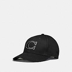VARSITY C CAP - BLACK - COACH F33777