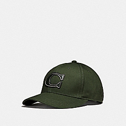 COACH VARSITY C CAP - HUNTER or HUNTERGREEN - F33777