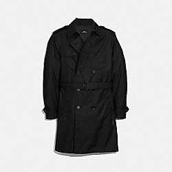 COACH TRENCH COAT - BLACK - F33778