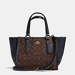 COACH MINI CROSBY CARRYALL IN SIGNATURE - LIADC - F33860