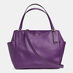 BABY BAG TOTE IN EMBOSSED TEXTURED LEATHER - f33861 -  LIGHT GOLD/VIOLET