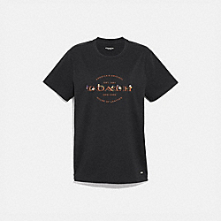 COACH T-SHIRT - BLACK - COACH F33867