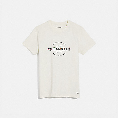 COACH COACH T-SHIRT - WHITE - F33867