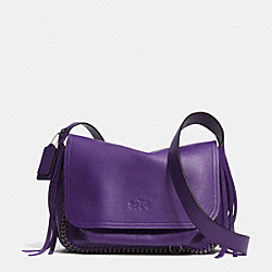 COACH DAKOTAH FRINGE FLAP CROSSBODY IN LEATHER - DKVIO - F33935