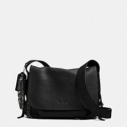 COACH DAKOTAH SMALL FLAP CROSSBODY IN WHIPLASH LEATHER - BNBLK - F33947