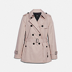 SHORT TRENCH - PORCELAIN - COACH F34022