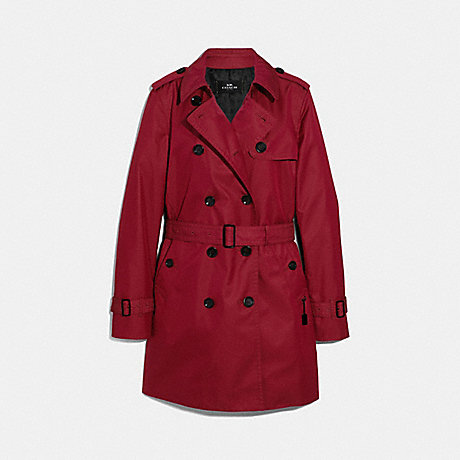 COACH TRENCH - RUBY - F34024