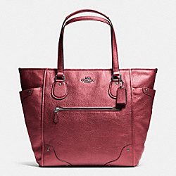 COACH MICKIE TOTE IN GRAIN LEATHER - QBE42 - F34039