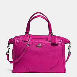 MICKIE SATCHEL IN GRAIN LEATHER - f34040 - QBCBY