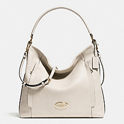 COACH LARGE SCOUT HOBO IN PEBBLE LEATHER - LIGHT GOLD/CHALK - F34311