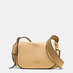 COACH DAKOTAH MINI FLAP CROSSBODY 21 IN WHIPLASH LEATHER - QBNUD - F34397