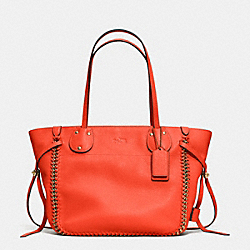 COACH TATUM TOTE IN WHIPLASH LEATHER - LICRL - F34398