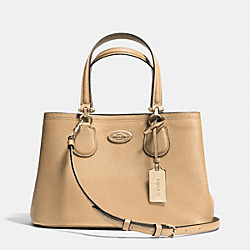 COACH SMALL KITT CARRYALL IN CROSSGRAIN LEATHER - LINUD - F34563