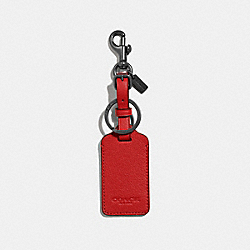 LUGGAGE TAG - VINTAGE RED - COACH F34586