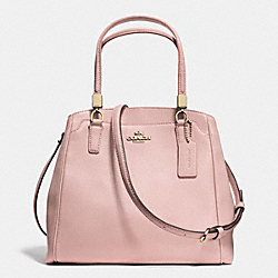 COACH LEATHER MINETTA CROSSBODY - LIGHT GOLD/NEUTRAL PINK - F34663