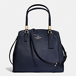 COACH LEATHER MINETTA CROSSBODY - LIGHT GOLD/MIDNIGHT - F34663