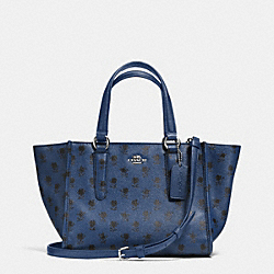 COACH CROSBY MINI CARRYALL IN PRINTED CROSSGRAIN LEATHER - SVDSS - F34774