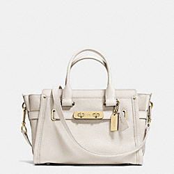COACH SWAGGER 27 - f34816 - CHALK/LIGHT GOLD