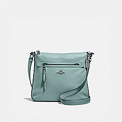 MAE FILE CROSSBODY - QB/SAGE - COACH F34823