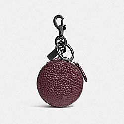 MINI ZIP CASE - CARDINAL/BLACK ANTIQUE NICKEL - COACH F34869