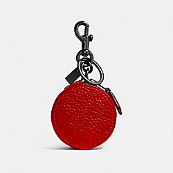 MINI ZIP CASE - VINTAGE RED - COACH F34869