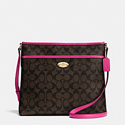 FILE BAG IN SIGNATURE - IME9T - COACH F34938
