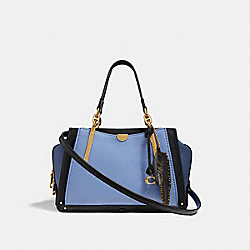 DREAMER IN COLORBLOCK - AZURE/MULTI/BRASS - COACH F35241