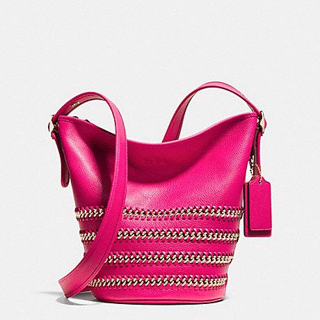 coach f35373 mini duffle in whiplash leather handbags. Black Bedroom Furniture Sets. Home Design Ideas