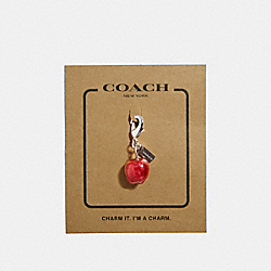 APPLE CHARM - SILVER - COACH F35469