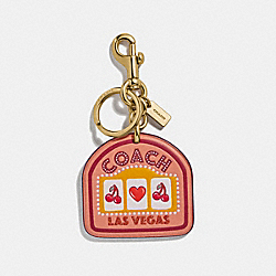 LAS VEGAS BAG CHARM - SUNRISE/GOLD - COACH F35488