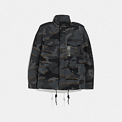 M65 JACKET - GREY CAMO - COACH F35595