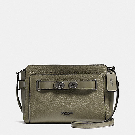 COACH f35688 BLAKE CROSSBODY IN BUBBLE LEATHER QBB75