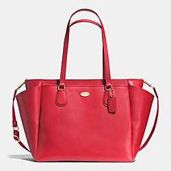 BABY BAG IN CROSSGRAIN LEATHER - IME8B - COACH F35702